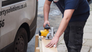 Building Services - Sawing